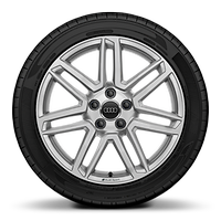 Audi Sport cast alloy wheels, 7-double spoke style, 8.5J x 18 with 245/40 R18 tires