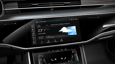 Six-month trial subscription to Audi connect® PRIME and Audi connect® PLUS online services