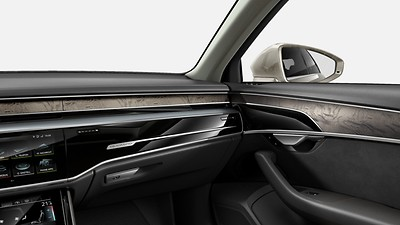 Upper decorative inserts in wood, Audi exclusive