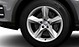 Cast aluminium alloy wheels, 5-spoke star design, size 8.5J x 19, with R 19 tyres