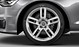 Audi Sport cast aluminium alloy wheels, 5-twin-spoke design, size 8.5J x 19, with 255/40 R 19 tyres