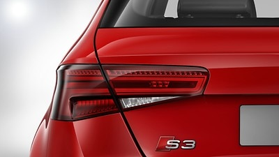 LED rear lights with dynamic indicator