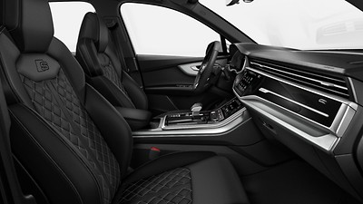 S Sport front seats with integrated front head restraints