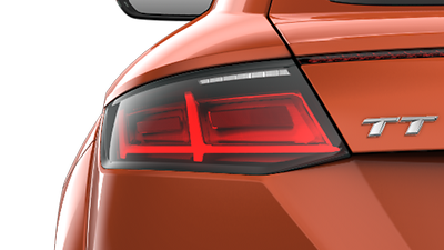LED taillights with dynamic indicators