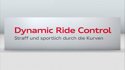 Sports suspension Plus with Dynamic Ride Control DRC