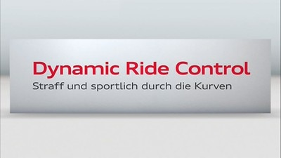 RS-sportsunderstell plus med Dynamic Ride Control (DRC)