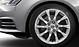Cast aluminium alloy wheels, 10-spoke design, size 7.5J x 17, with 225/50 R17 tyres