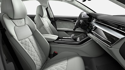 Audi design selection pastellsilber