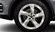Audi Sport cast alum. alloy wheels, 5-arm turbine des., magnesium look, mach. pol., 9 J x 20, 285/45 R 20 tyres