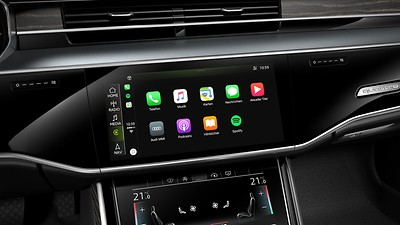 Audi smartphone interface (Apple Carplay y Android Auto)
