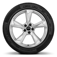 Alloy wheels, 5-arm dynamic style, 7.0J x 19, 235/50 R19 tires
