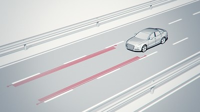 Audi active lane assist inkl. Fernlichtassistent