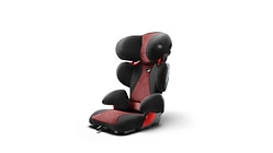 Audi child seat youngster advanced, misano red/black