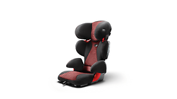 Audi kinderzitje youngster advanced, misanorood/zwart