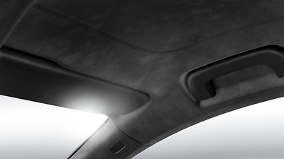 Black Alcantara Headliner