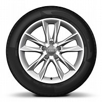 "17"" alloy wheels in 5-arm kinetic design with 225/45 tyres"