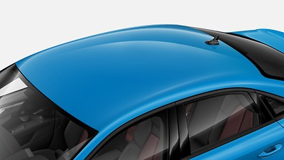 Without panoramic glass sunroof
