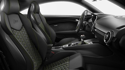 Pacchetto design Nero-Verde Iguana Audi exclusive