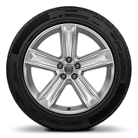 Cast alloy wheels, 5-arm style, 9J x 20