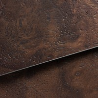 Dark Brown Walnut Wood inlays