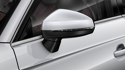 Exterior mirror housings in body colour