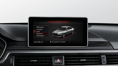 Audi Drive select mit efficiency®