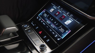 MMI Navigation plus with MMI touch response, incl. Audi virtual cockpit