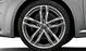 Легкосплавные диски Audi Sport, дизайн «5 двойных спиц», titan matt, с полированной обводкой, размер 9J x 19