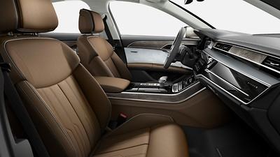 Lederausstattung (Paket 3) in Leder Valcona Audi exclusive