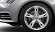 Forged aluminium alloy wheels, 5-arm tornado design, size 7.5J x 17, with 225/50 R17 tyres