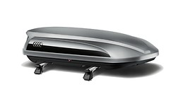 Audi Roof Box - Platinum Grey, 360 l