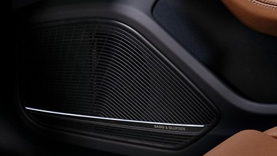 Bang & Olufsen® sound system with 3D sound
