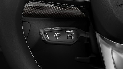 Adaptive cruise control with Stop&Go including distance indicator