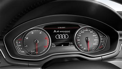 Instrument cluster, km/h speedometer