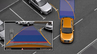 Audi Parking System Advanced with rear reversing camera