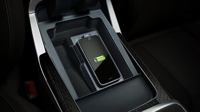 Audi phone box (signal booster and wireless charger)