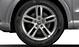Aluminium-Gussräder Audi Sport im 5-Doppelspeichen-Design, Größe 7 J x 18, mit Reifen 235/50 R 18