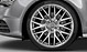 Audi Sport cast aluminium alloy wheels, 10 Y-spoke design, size 9J x 20, with 265/35 R 20 tyres