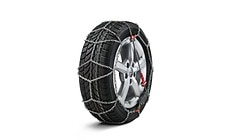 Snow chains, comfort class, for 225/55 R16, 215/55 R17, 225/50 R17, 225/45 R18 or 225/50 R18 tyres