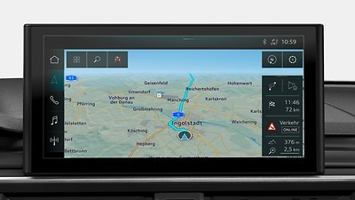 MMI Navigation plus with MMI touch