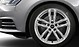 Audi Sport cast aluminium alloy wheels, 5 twin-spoke design, size 8 J x 18, 245/40 R 18 tyres