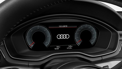 Audi virtual cockpit plus - Audi virtuaalimittaristo plus