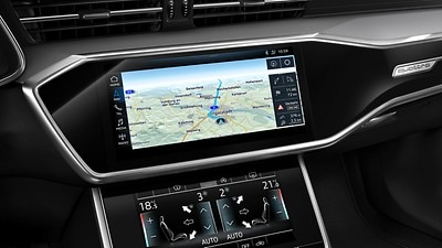 MMI navigatie plus met MMI touch response incl. Audi virtual cockpit