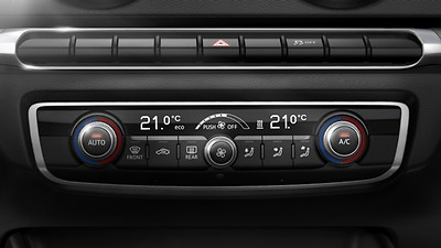 Dual-zone electronic climate control