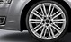 Audi Sport cast aluminium alloy wheels, 10-V-spoke design, size 9J x 21 with 275/35 R21 tyres
