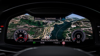MMI navigation plus inkl. Audi virtual cockpit och smartphone interface