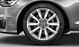 Cast aluminium alloy wheels, 5-V-spoke design, size 8J x 18, with 245/45 R 18 tyres