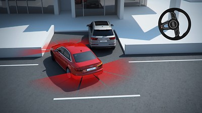 Asystent parkowania z Audi parking system plus