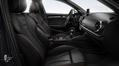 Front Sport seats with RS embossed logo