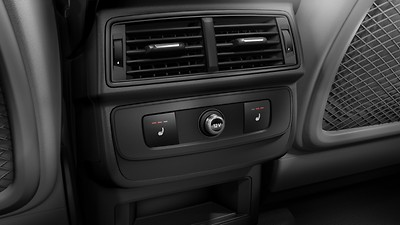 Front and rear heated seats